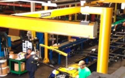 Overhead Factory Cranes | The Workhorse of the Factory