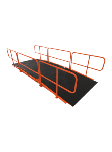Basic 6x16 railing - Shoring - Trench Shoring - Shoring Box - Shoring Wall - Kundel Trench Shield - Trench Shield - Shield