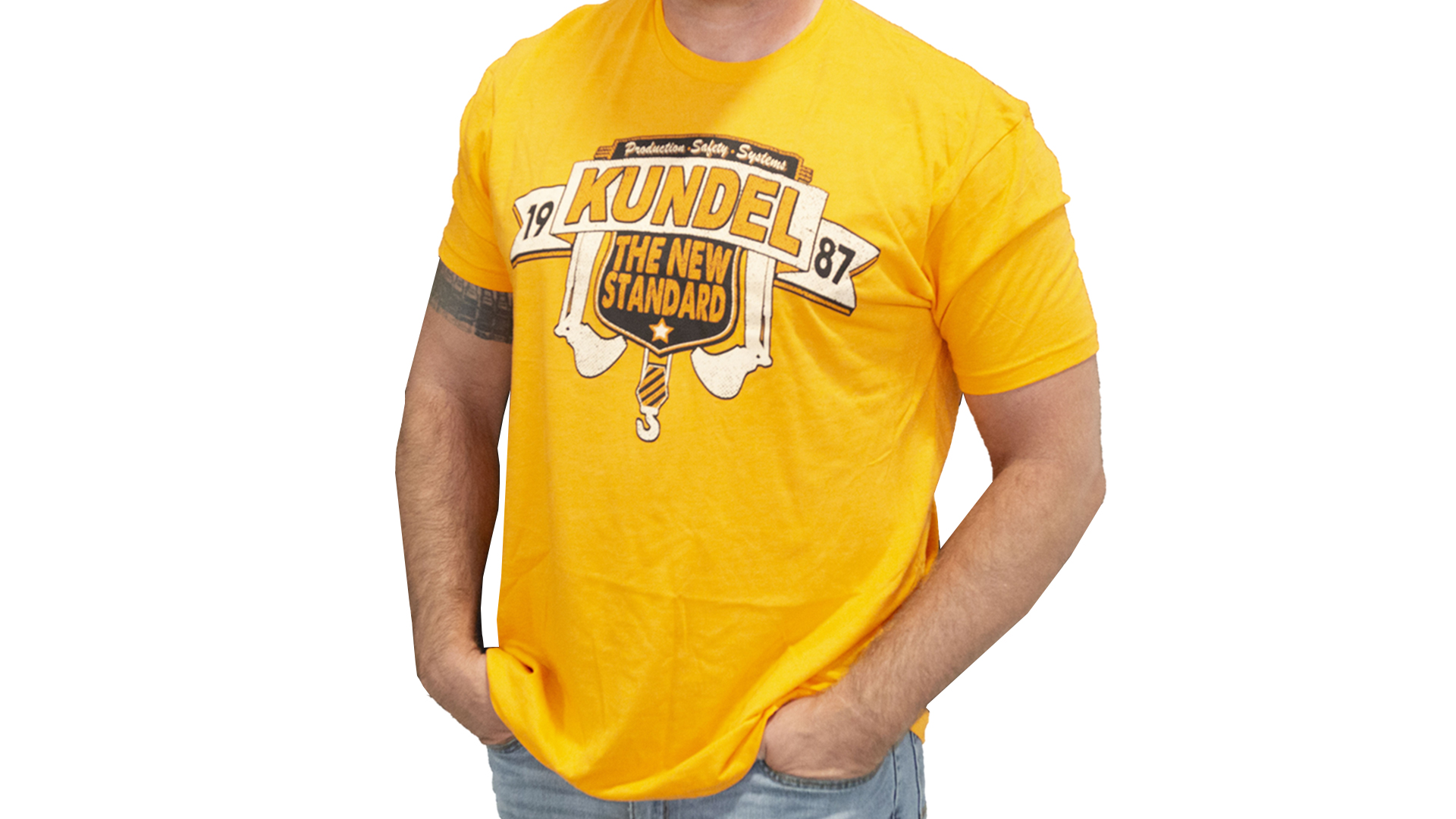Orange Kundel T-Shirt - T-Shirt - The New Standard - Family Owned