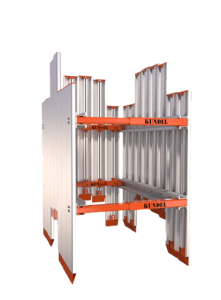 V-Panel 8x8 with Knife edge - Shoring - Trench Shoring - Shoring Box - Shoring Wall - Kundel Trench Shield - Trench Shield - Shield