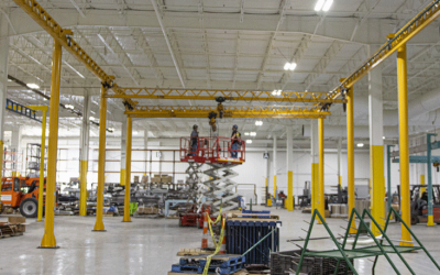 Overhead Cranes and Shop Safety: What Operators and Workers Must Know