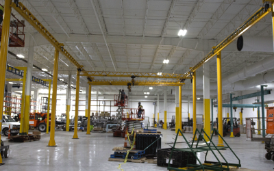 Overhead Cranes Impact on Agriculture Manufacturing
