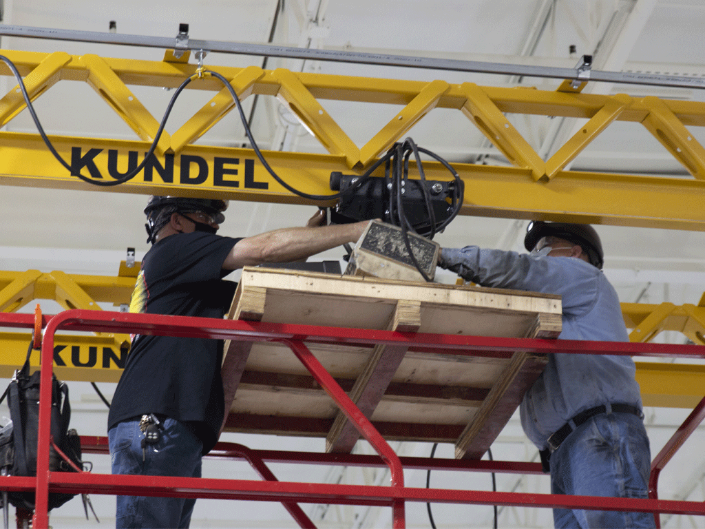 Overhead Factory Crane