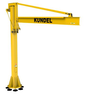 Kundel 360 Jib Crane SMALL- Foundationless Jib - Freestanding Jib - Articulating Jib