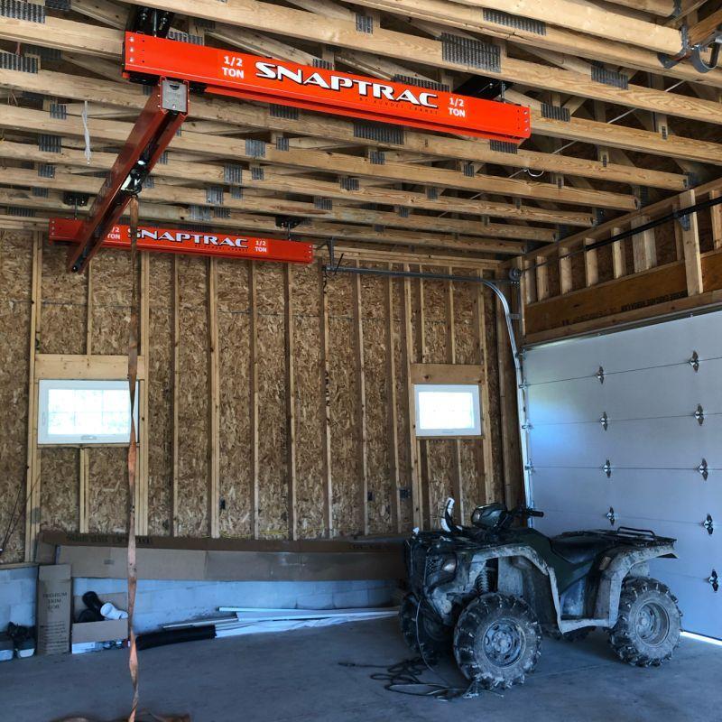 snaptrac garage install