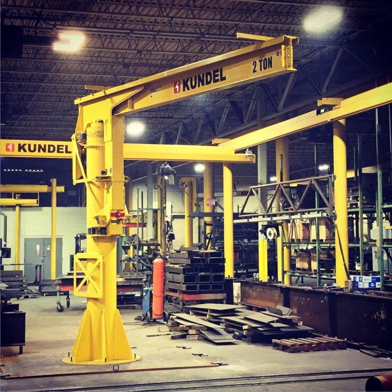 360 motorized jib crane